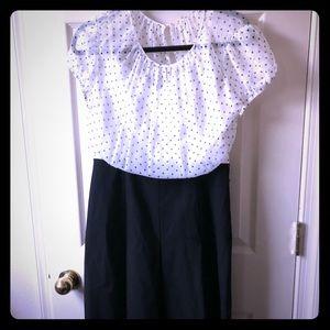 Cute Tahari wrk dress size 8 EUC
